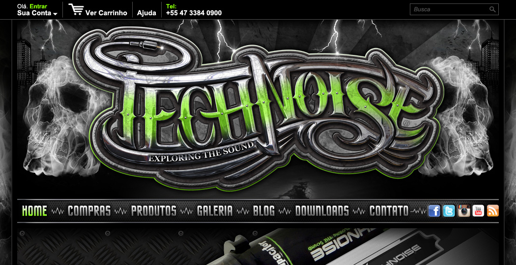 TECHNOISE WEB DESIGN