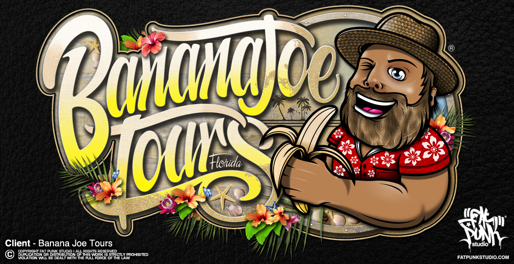 BANANA JOE TOURS LOGO
