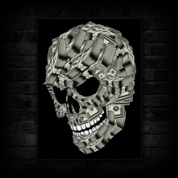 01-money-skull-canvas