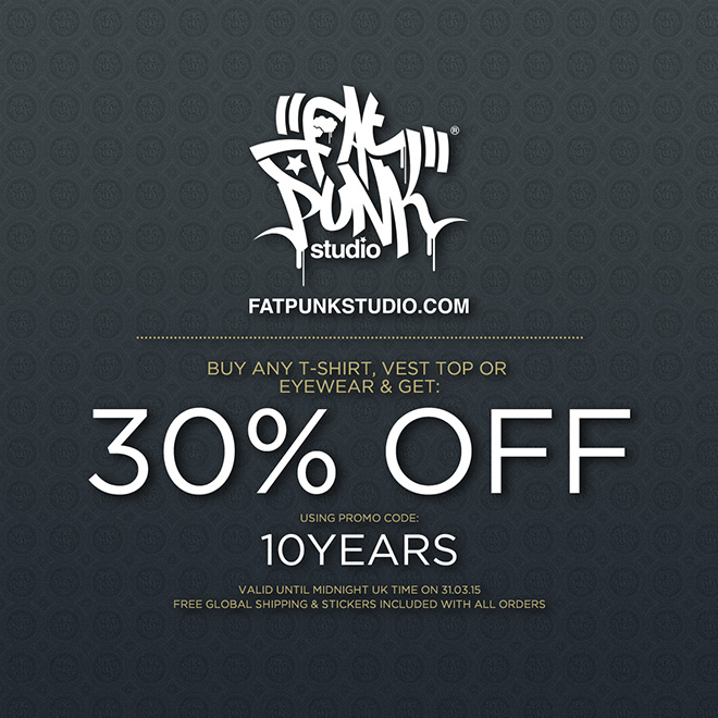 celebrating our 10 year anniversary with a kingly 30% off promo code