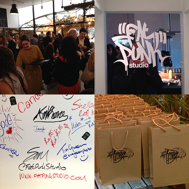 The Frog by Adam Handling, Restaurant Launch Party