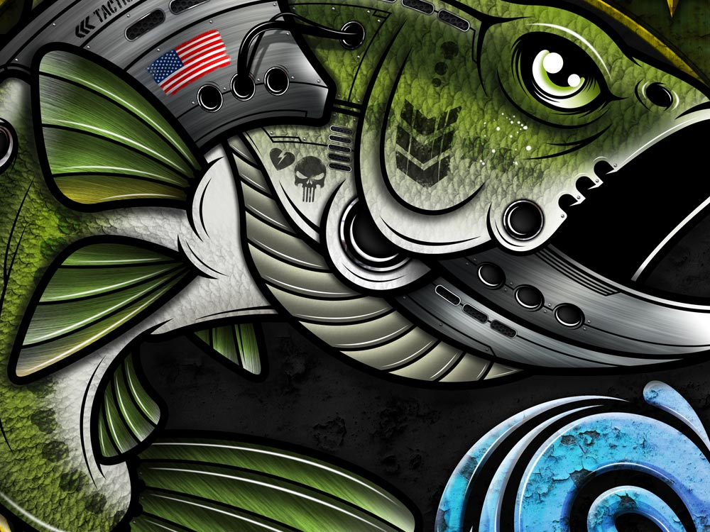 bass-camo-somerset-logo-design