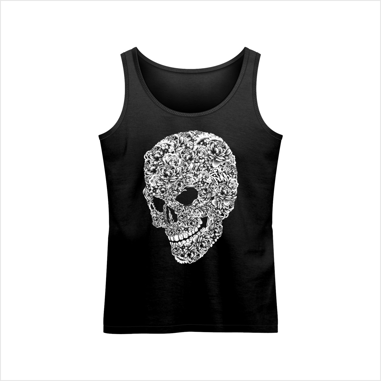 fat-punk-studio-flower-skull-vest-top-black-01