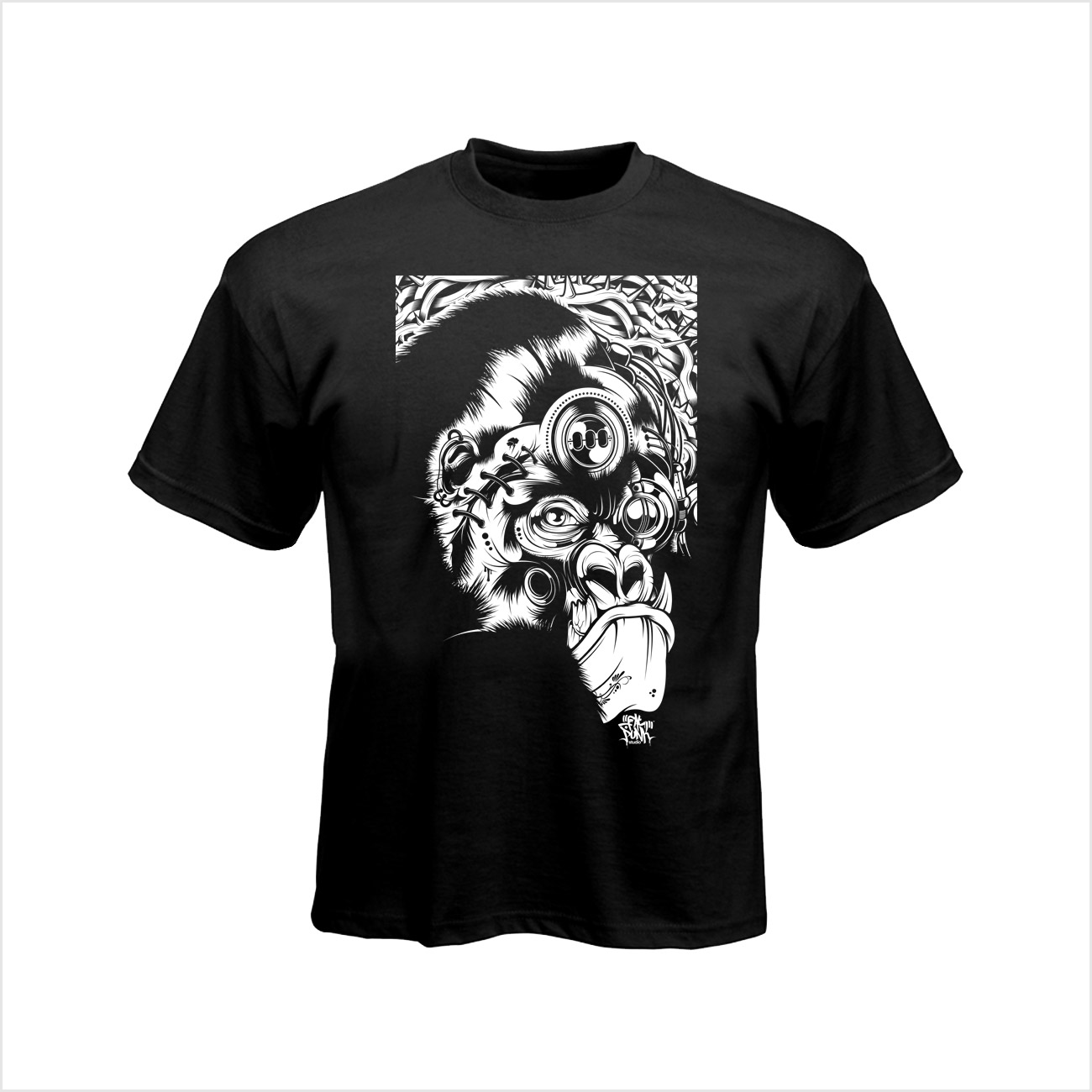 fat-punk-studio-gorilla-t-shirt-black-01
