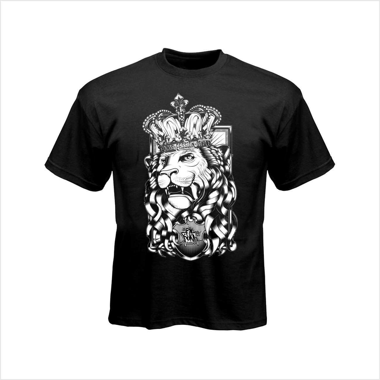 fat-punk-studio-lion-t-shirt-black-01