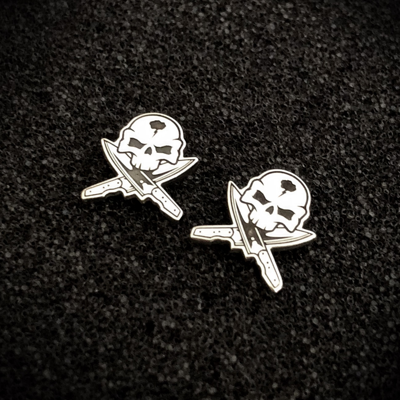 handmade-skull-and-cross-knives-earrings-sterling-silver-fat-punk-studio-01