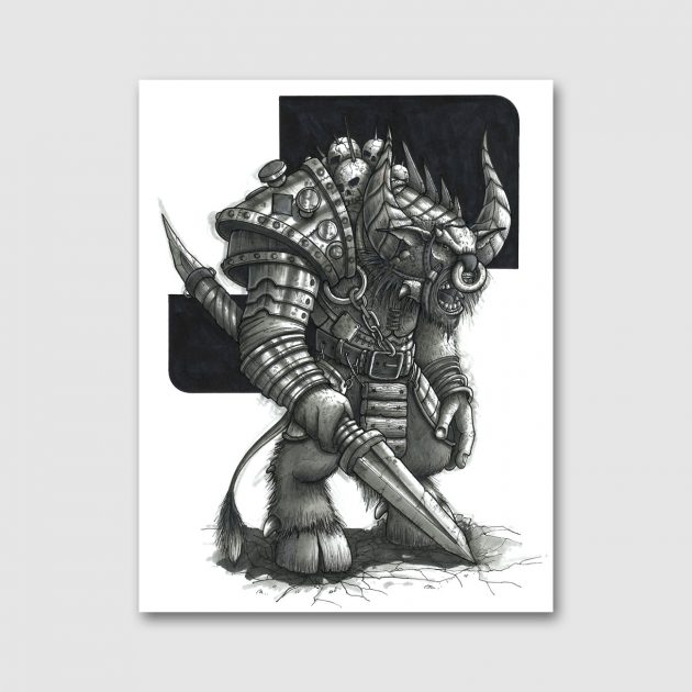 minotaur-sketch-canvas-01