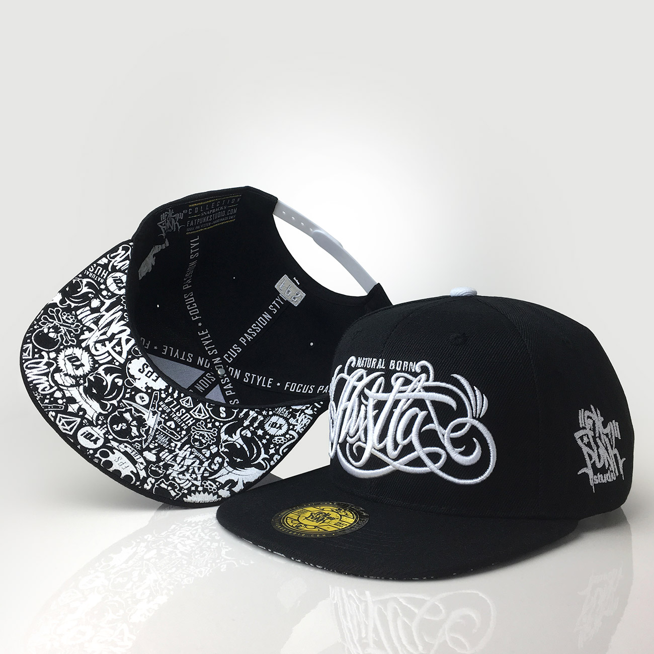 snapback-cap-natural-born-hustla-fat-punk-studio-01