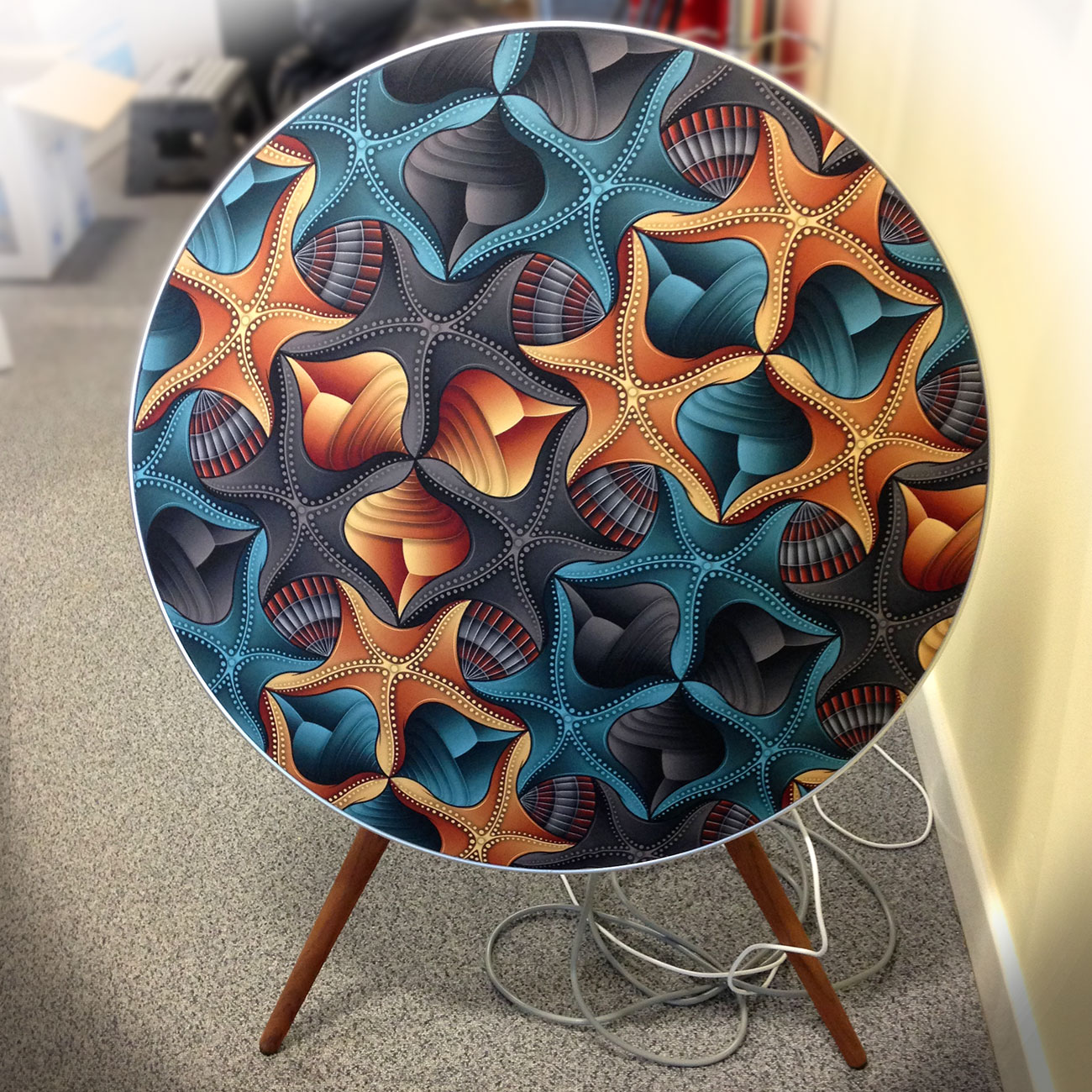 starfish shells beoplay a9 cover fat punk studio. Black Bedroom Furniture Sets. Home Design Ideas