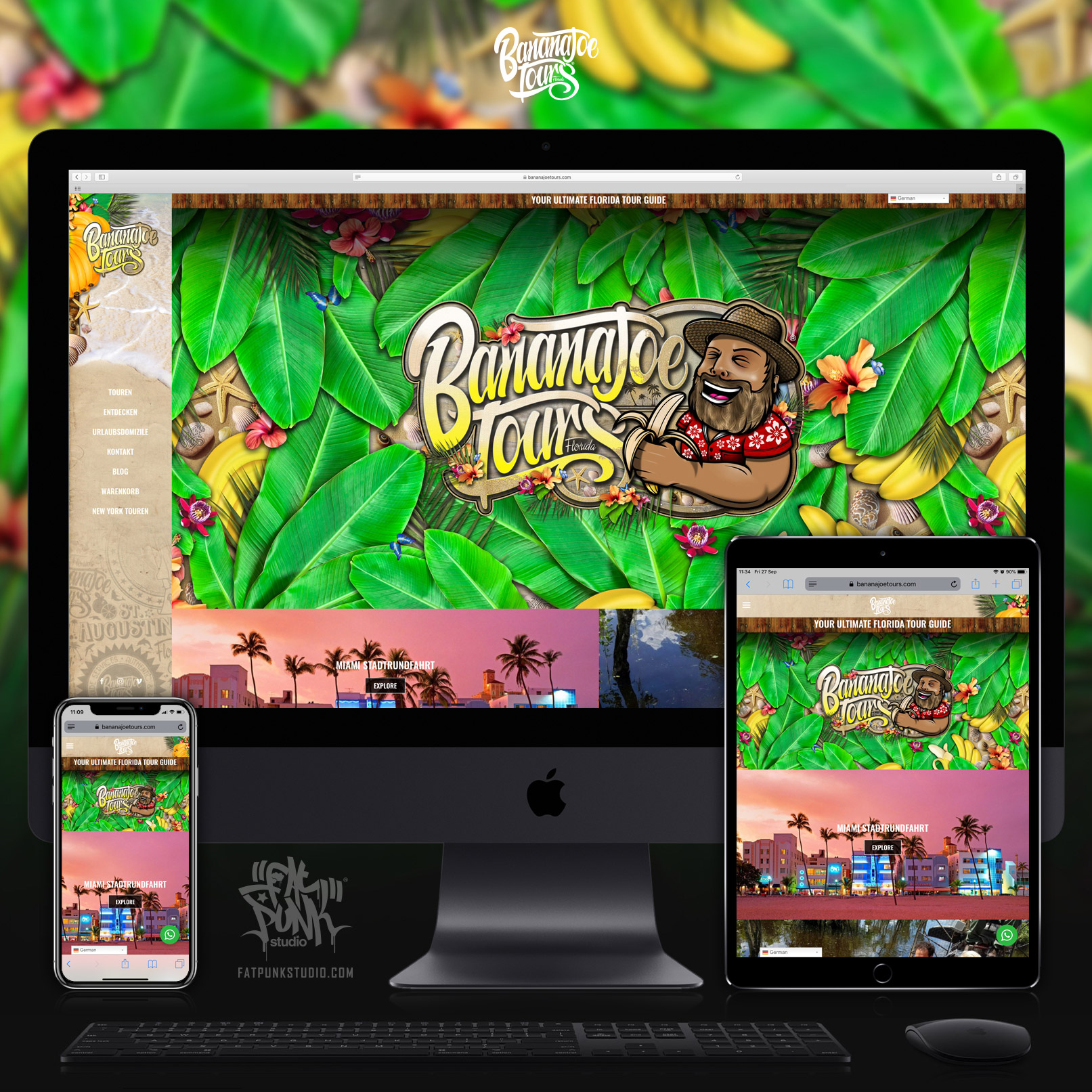 website-deisgn-build-banana-joe-tours-florida