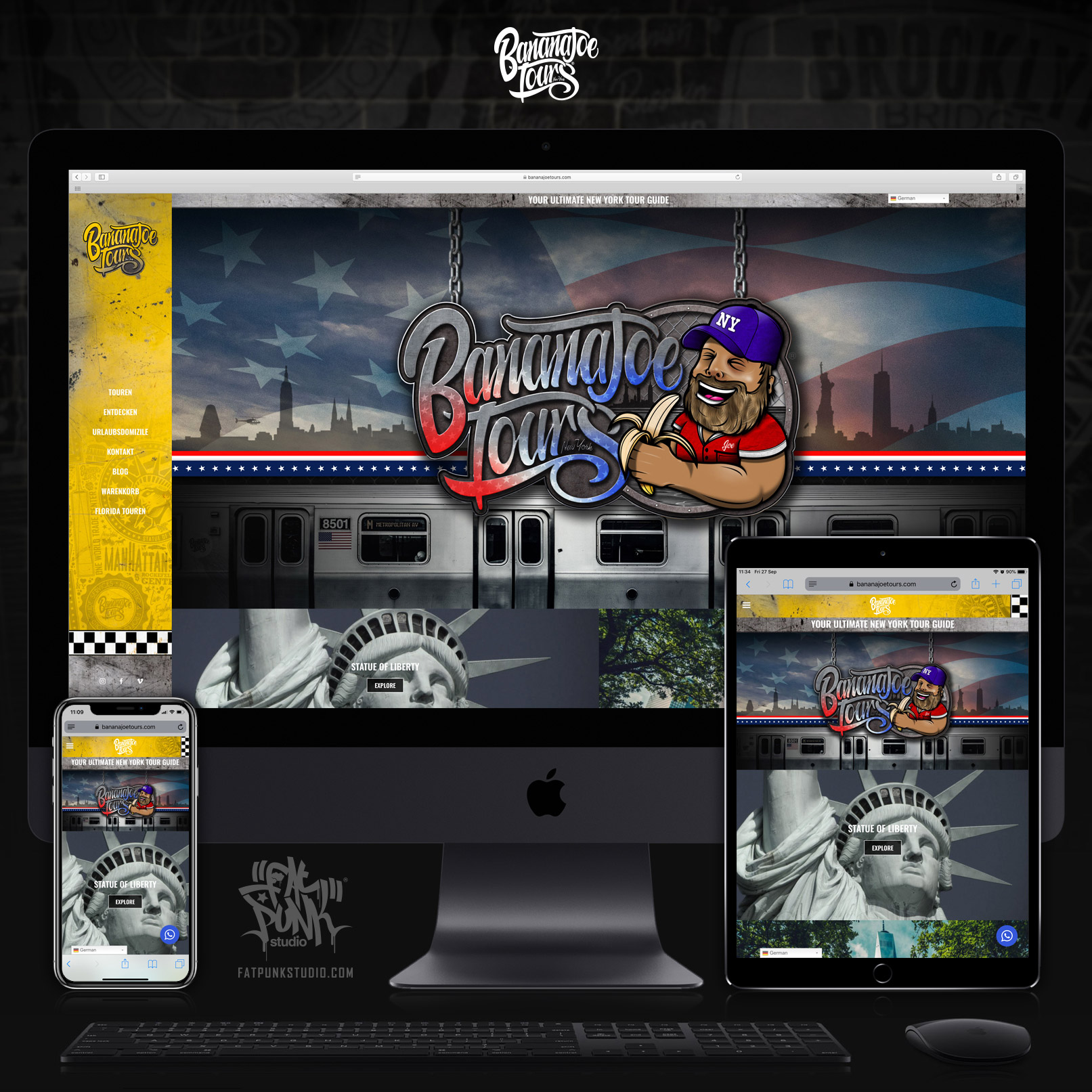 website-deisgn-build-banana-joe-tours-new-york